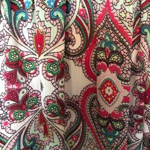 NY Collection Tops - NY Collection Paisley Print Tunic